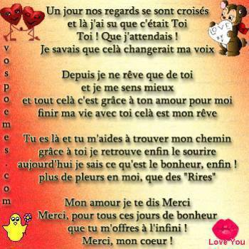 Poeme D Amour Intense Love Quotes
