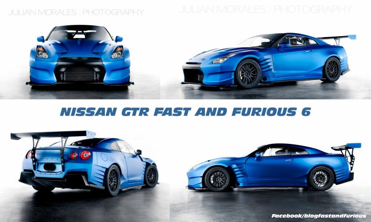 NEW FF6 [ LA NISSAN GTR DE FAST AND FURIOUS 6 ]