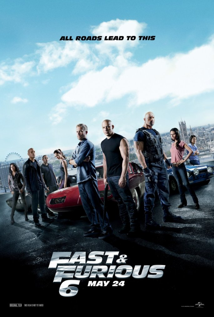 NEW [ Nouvelle Affiche de Fast and Furious 6 ! ]